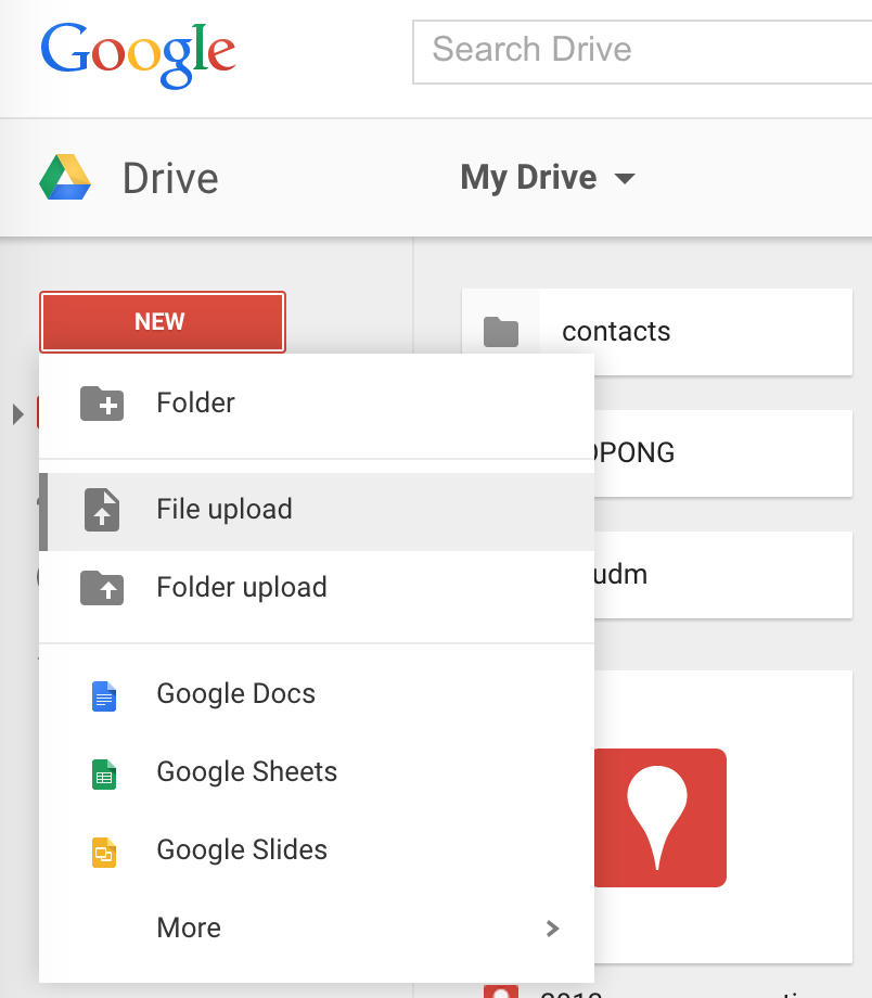 Url To Google Drive File